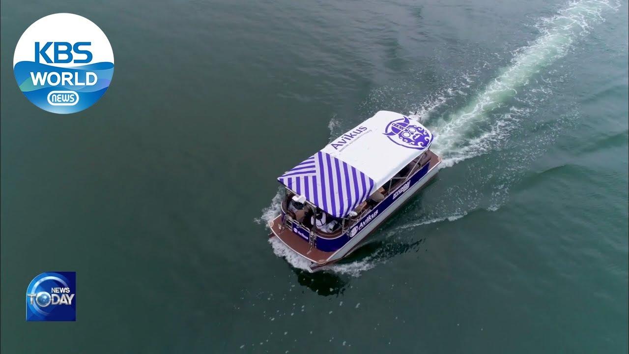 AI・Autonomous technology on ship (News Today) l KBS WORLD TV 210617