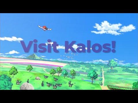 Explore Pokémon: Kalos Region
