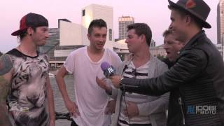 Interview: Tyler Joseph and Josh Dun of Twenty One Pilots at AP Music Awards 2014