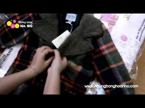 Áo Khoác Trẻ Em Phong Cách Hàn Quốc AKBT03