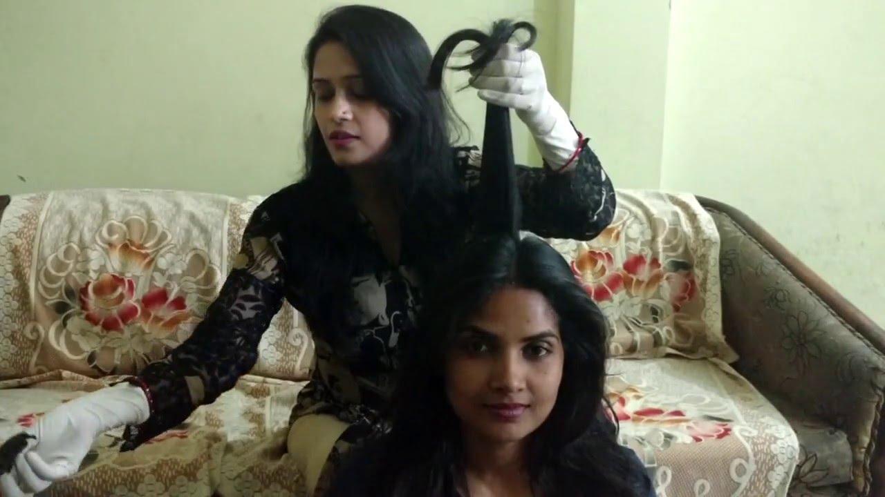 Mehndi Uses For Hair : How to apply mehndi on medium long hair at home for women girls in