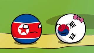 Countryballs. Северная корея в одиночевстве