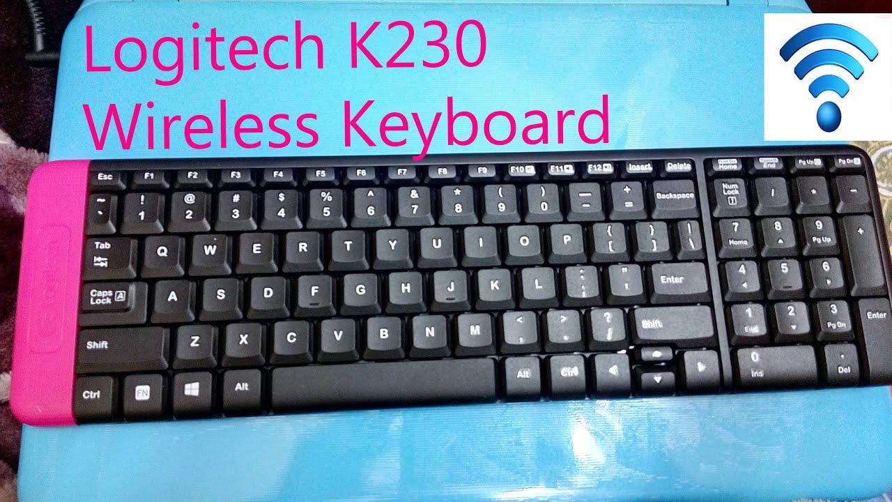 logitech k230 wireless keyboard unboxing youtube. Black Bedroom Furniture Sets. Home Design Ideas