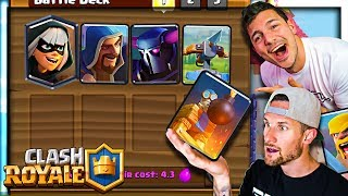 Molt Picks My Deck! - Clash Royale