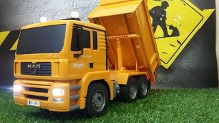 RC Dump Truck Man Jamara testing 1:20