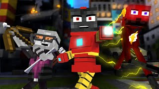Monster School  Superheroеs Story - Minecraft Animation