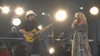 Carrie Underwood and Brad Paisley  Remind Me  CMA 2011 Live