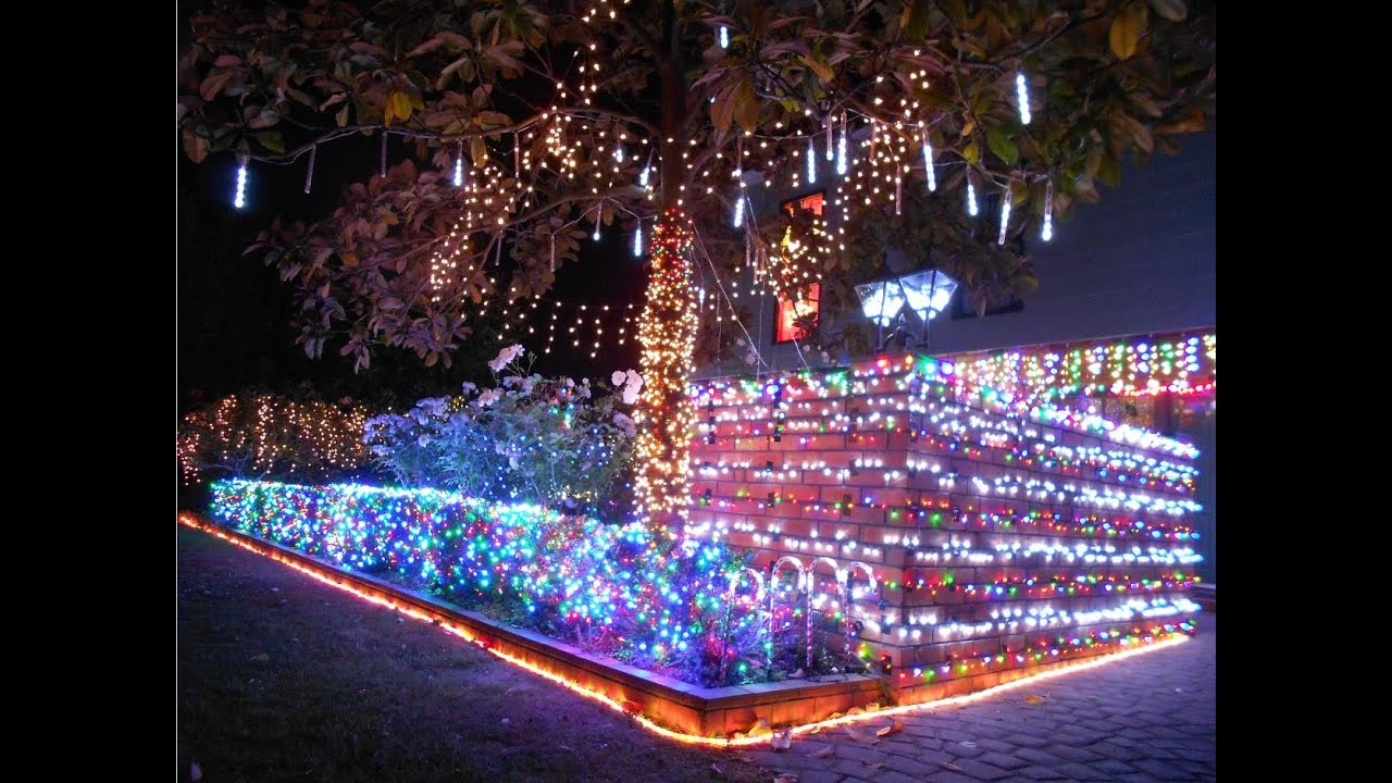 Delightful Everything Is Awesome Christmas Lights 2014!   YouTube Pictures Gallery