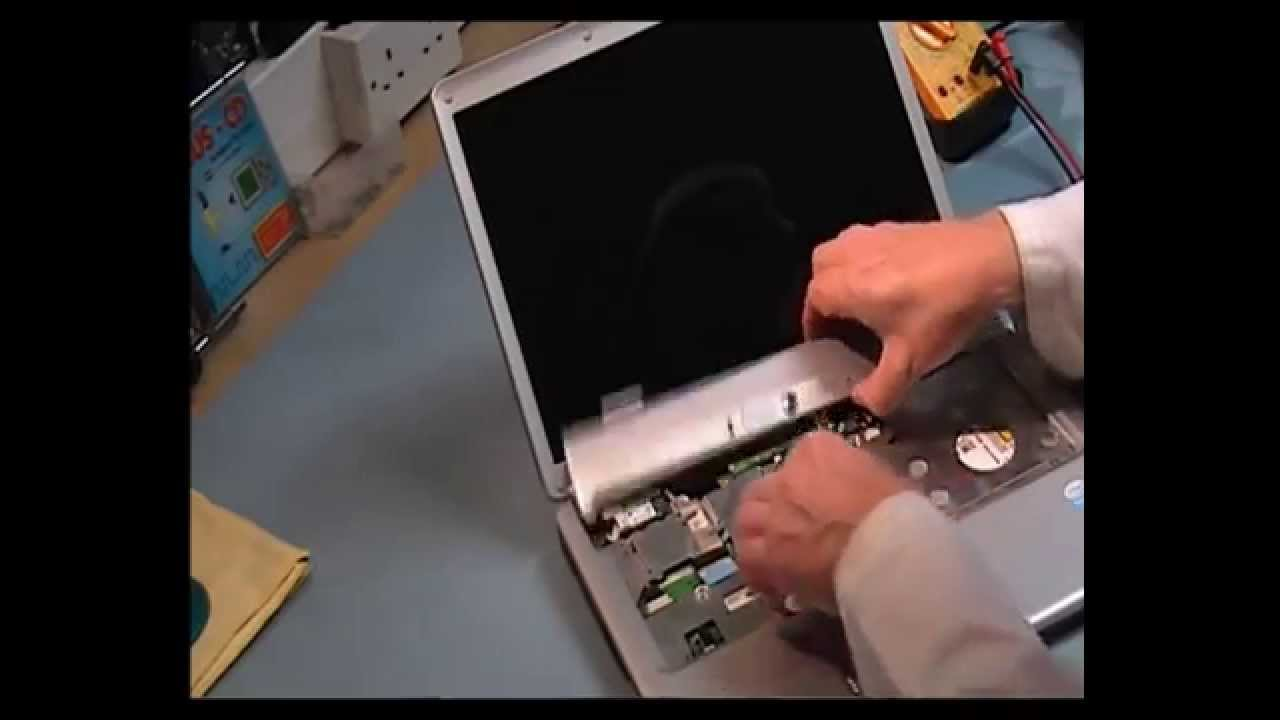 Dell Inspiron 1525 disassembly Video