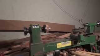 Harbor Freight 10x18 Central Machinery Mini Wood Lathe Review