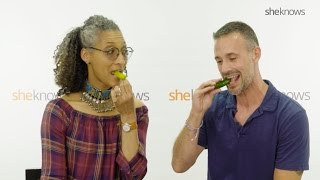 Carla Hall and Freddie Prinze Jr. – Hot Sauce Trivia