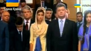 Младший сын Порошенко, потерял сознание на молебне за Украину..(Порошенко останови ВОЙНУ.., 2014-08-23T20:09:51.000Z)