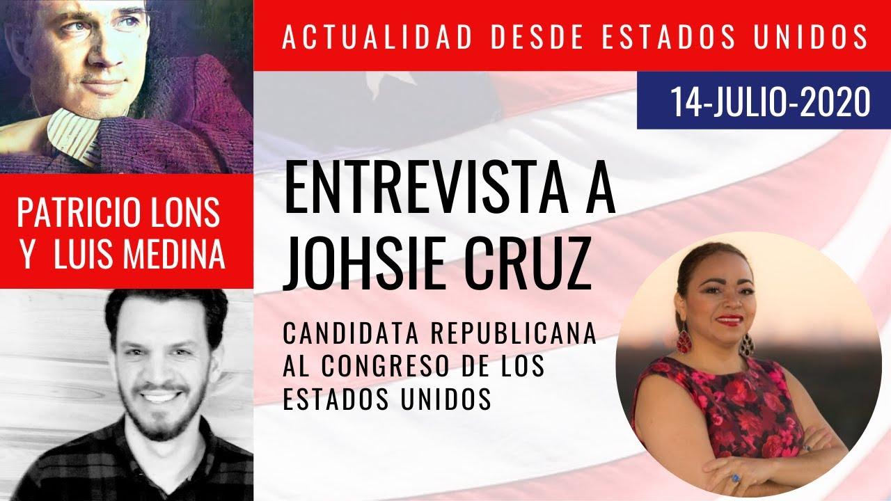 Johsie Cruz, candidata republicana del estado de Georgia. - Luis Medina y Patricio Lons