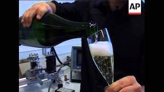 The best way to pour champagne and beer