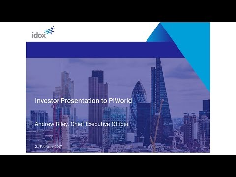 idox plc (IDOX) Investor presentation February 2017