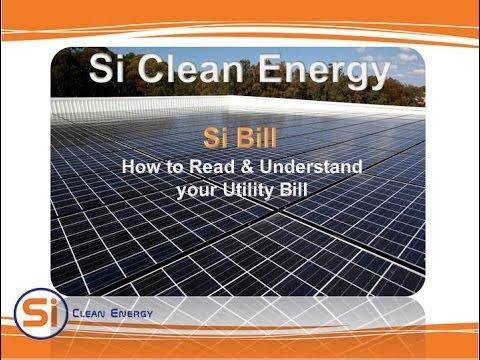 Si Clean Energy - Si Bill