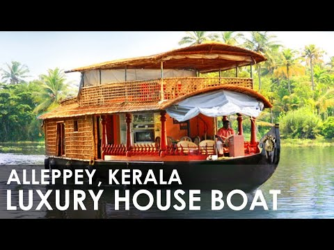 Alleppey Backwater House Boat Travel Experience, Honeymoon Destination, at Kerala tourism India