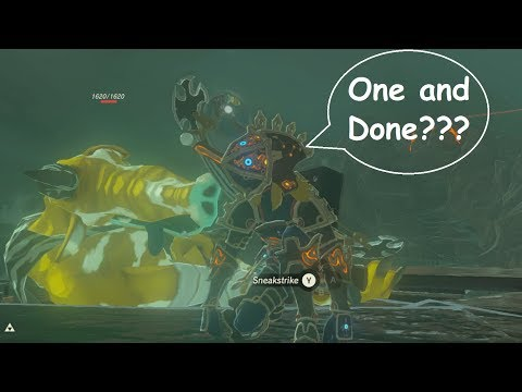 What's the Most Damage Link Can Do?? (Master Mode) Zelda BotW
