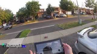 AR.Drone2.0 on Samsung Galaxy Tab 10.1 with Targus Gaming Controler