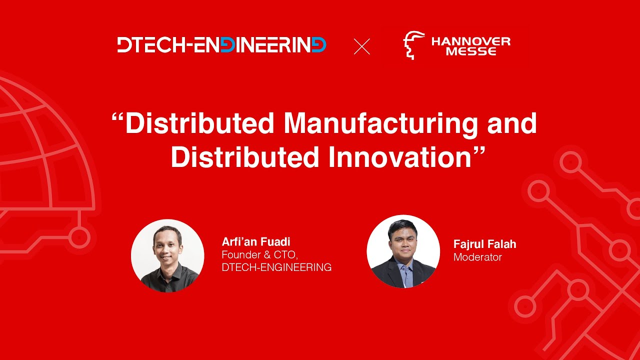 Hannover Messe 2021   DTECH-ENGINEERING - YouTube