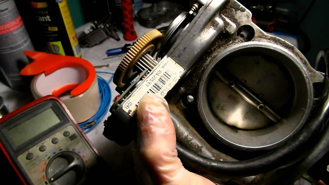 Mercedes throttle actuator repair Bad potentiometer repair Part 1  YouTube