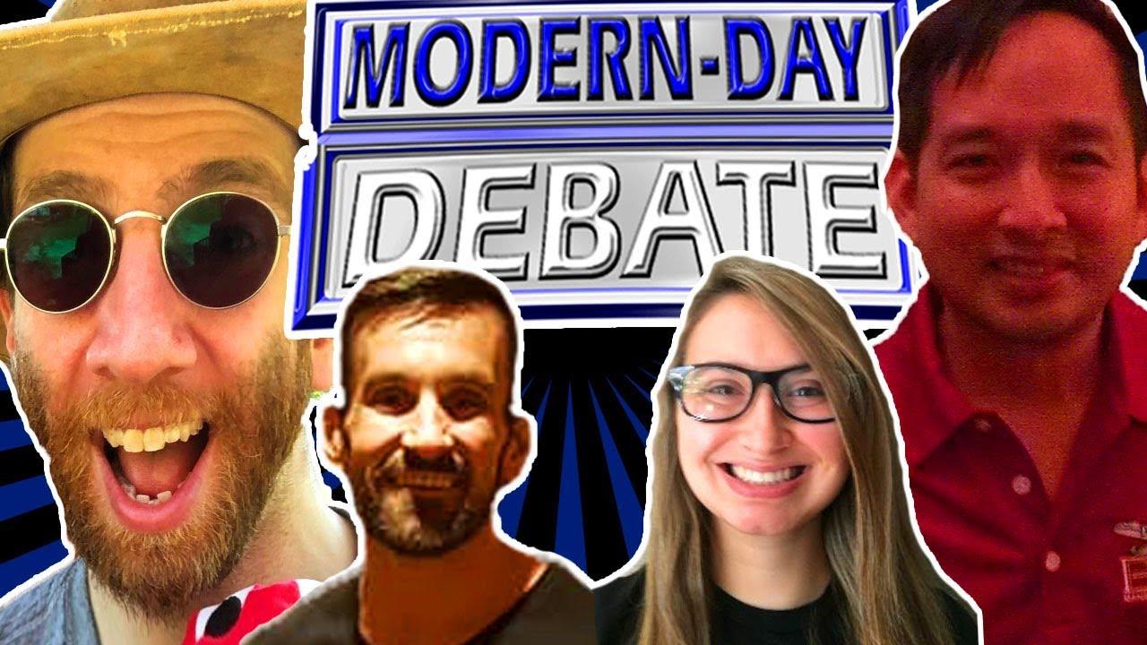 Creationist Genetics? | Dan Vs Sal  BACKLASH DEBATE W/ Guest Mod Erika