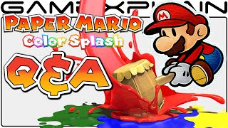 Paper Mario: Color Splash Q&A: 50 of YOUR Questions Answered! (No Spoilers!)
