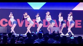 AOA : 사뿐사뿐 Like a Cat : fullshot fancam : K-POP 커버댄스 페스티벌 : 서울광장