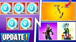 *NEW* Fortnite Update! | 1000 Vbucks Reward for Everyone, April Fools, Revert!