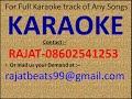 Entha Soundarya Nodu From  Mathu Thappada Maga  Karaoke by Rajat