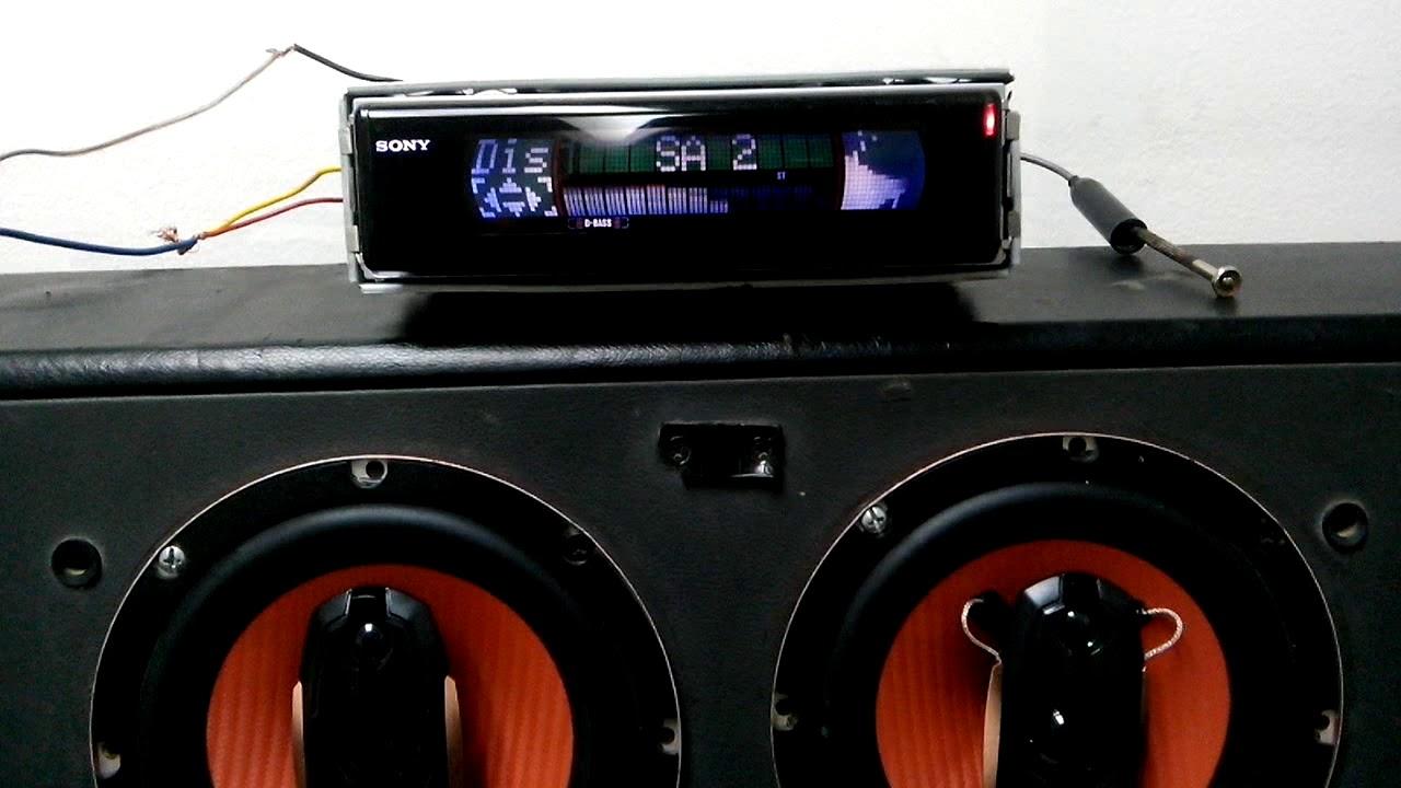 sony cdx-m610 old school