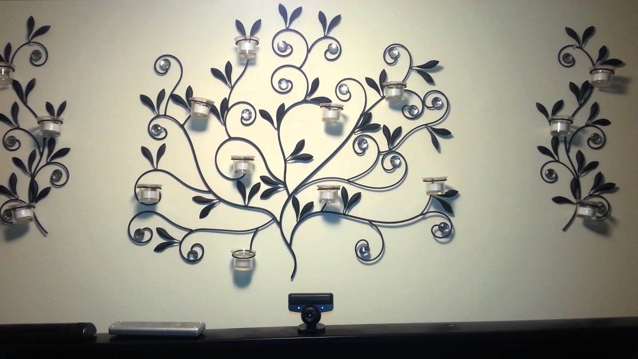 large metal tree wall art