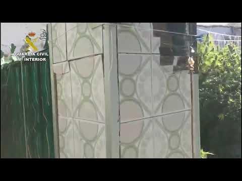 La Guardia Civil localiza en Peñarroya un plantación ilegal de marihuana