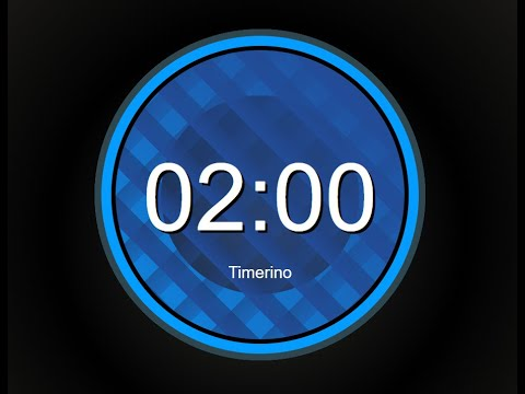 2 Minute Timer No Music With Alarm (Circular Version)
