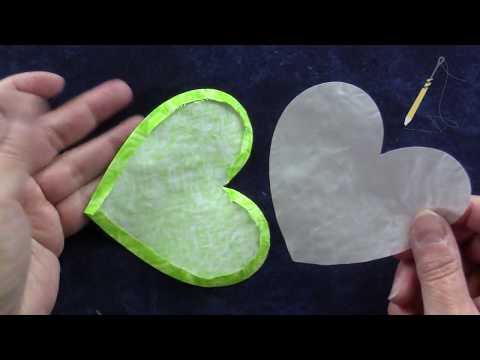 Patchwork u applique freezer paper u uccellino youtube