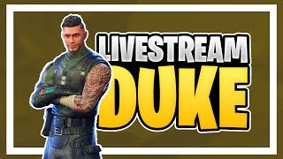 "DUKE//FORTNITE GAMES W/SUBSCRIBERS CODE IN THE STORE ""DUKE_OFC"" GIVEAWAY €25 100 SUPPORTERS"