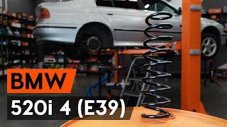 Cambiar Muelles traseras izquierda derecha BMW Serie 7 2019 - instrucciones en video