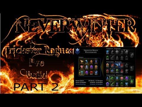 Neverwinter -  Lvl 70 Trickster Rogue WK Exec/Scoundrel PVE Build