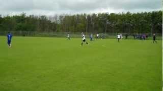 Varde-KFC U14. Resultat: 2-3 - Fodbold U14 (98) række 609 1. halvleg Del 1 - lørdag 23. juni 2012