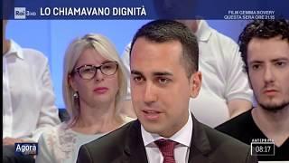 Luigi Di Maio ospite ad Agorà 3/07/2018