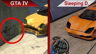 BIG COMPARISON | GTA IV vs. Sleeping Dogs: Definitive Edition | PC | ULTRA