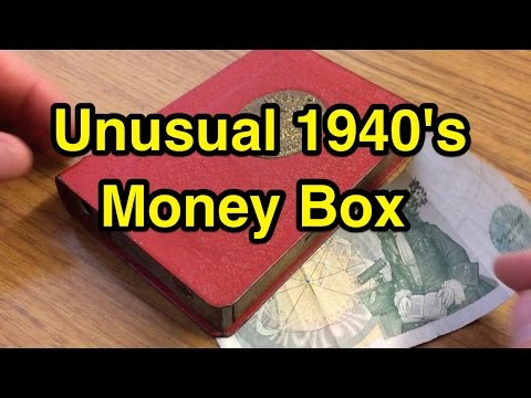 Interesting 1940's Money Box (Post Office Savings Bank)