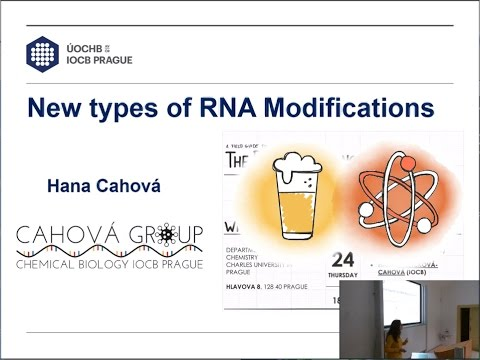New types of RNA Modifications [The Pint of Science in Prague]