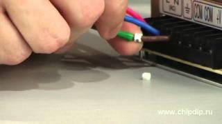 видео маркировка проводов и кабелей при монтаже