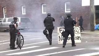 World's Fastest May Day Riot Dispersion