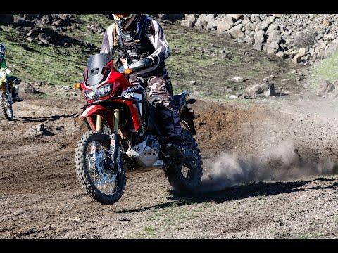 Africa Twin Offroad Racing 2017 Desert 100