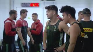 Harlequins hit the gym