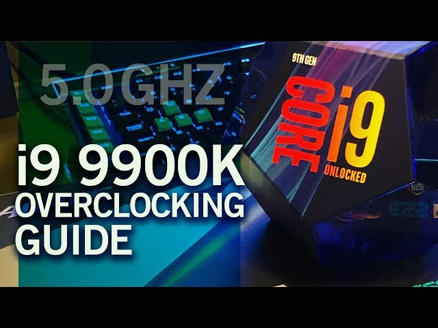9900K overclock benchmark