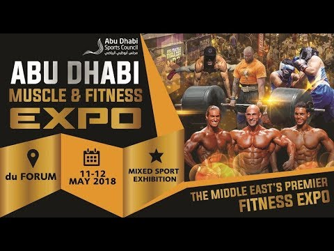 Abu Dhabi Muscle and Fitness Expo