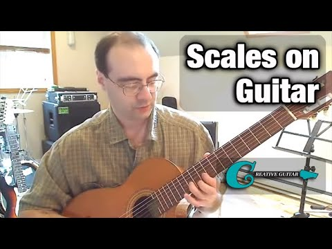 How Scales Work on the Guitar Fretboard...